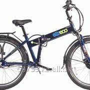 Велогибрид Eltreco Patrol 26 Nexus 3 blue фото