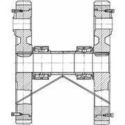 Узлы и детали обор. металлургических комбинатов: Валы приводных механизмов станов ХПТ-32 ХПТ-55 ХПТ-90 фото