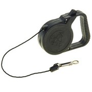 Поводок рулетка для собак Пижон - 3м, чёрная фото