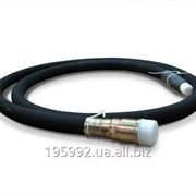 Вал гибкий привода скоростемера с бронёй. Вал гибкий В-124-2600 фото