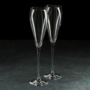 Набор бокалов для шампанского 280 мл Grace, 2 шт фото