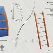 Кровать 6/4. Мебель для детских комнат фото