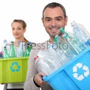 Утилизация пластика фото