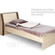 Кровать Рондо Р13 венге/ дуб молочный односпальная фото