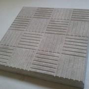 Плитка тротуарная Шашки, 30х30х3 см фото