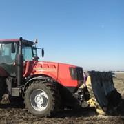 Многофункциональный отвал на трактор МТЗ 3022 - бульдозерный и коммунальный фото