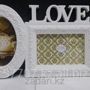 Фоторамка Love на 2 фотографии, фото