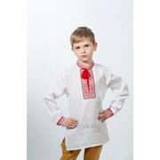 Рубашка вышиванка для мальчика 140 фото