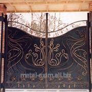 Ворота металлические в Кишиневе фото