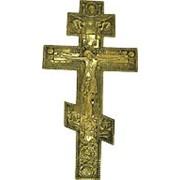 Крест из бронзы фото