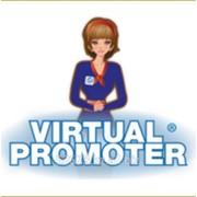 Виртуальный Промоутер мультипликационный фото