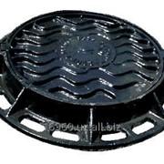 Люк чугунный канализационный ТИП-Т (С 250-В. 1-60) фото