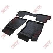 Коврики резиновые 3D PREMIUM для Nissan X-Trail II (2007-2015) фото
