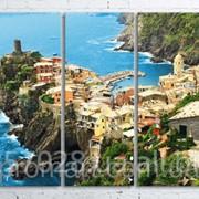 Модульна картина на полотні Vernazza. Cinque Terre National Park код КМ100200(200)-058 фото
