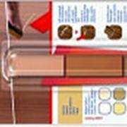 Воск для мебели Edding E-8901/3-В608, 3шт/уп, бук фото