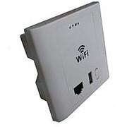 Настенный WiFi Роутер / Точка доступа Zodikam CC3AP241-W3-M (PoE, WiFi, 100м, 300 Mbps) фото