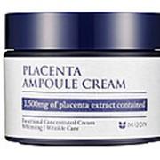 Антивозрастной крем для лица с плацентой (placenta ampoule cream) Mizon | Мизон 50мл фото