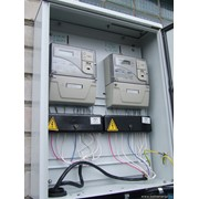 Монтаж узлов учёта расхода (потребления) электроэнергии. фото