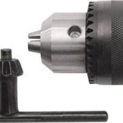 Патрон для дрели ключевой, 3-16 мм, под конус В18  фото