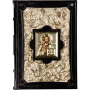 "Библия ""золото"" c иконой фото"