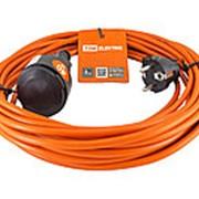 Удлинитель-шнур силовой УШз10 TDM (штепс. гнездо, 40м ПВС 3х0,75) фото