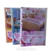 Комплект постельного белья (КПБ) 1,5-сп. с двумя наволочками 70х70, бязь пл.125г/м2 фото