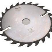 Пила дисковая по дереву Интекс 350 355 x80x24z с расклинивающими ножами по периметру ИН.02.350(355).80.24 фото