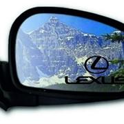 Лазерная гравировка боковых автомобильных зеркал фото