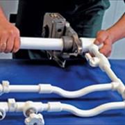 Замена водопроводных труб фото