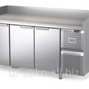 Стол холодильный Диксон СТХ-3/1680КМ с гранитной столешницей фото