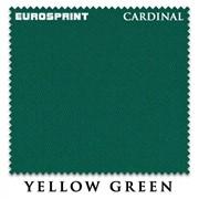Сукно Eurosprint Cardinal 165см Yellow Green фото