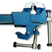 Тиски слесарные на струбцине модель ТССН-63 фото