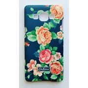 Чехол на Самсунг Galaxy A5 A500H Cath Kidston стильный Пластик Розы фото
