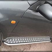 Пороги VW T5 2003-2009 (лист короткая база 53 мм) фото