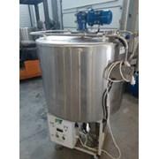 Танк-охладитель, объем — 0,3 куб.м, с мешалкой, ин фото