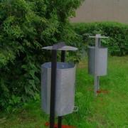 Контейнеры для мусора повышеной устойчивости (цинковое покрытие) фото
