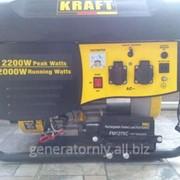 Генератор бензиновый Kraft KPG-6500 E (5000W) фото
