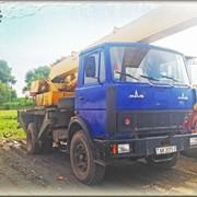 Услуги по аренде автокрана грузоподъёмностью 14 тонн «Ивановец» КС-3577-4. фото