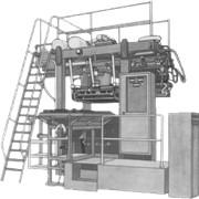Машины для изготовления стержней модели 4749А1Э2, 4752А2Г1, 4752А2Э1, 4753А1Г1, 4753А1Э1, 4753А2Г1, 4753А2Э1, 4754А2Г1 однопозиционные - изготовление стержней из влажных смесей пескодувным способом в нагреваемой оснастке фото