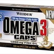 Weider Omega 3 caps. Рыбий жир. фото