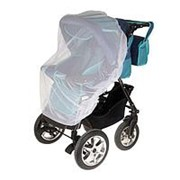 Москитная сетка на коляску универсальная, цвет белый, 120х140 см фото