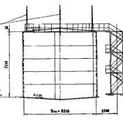 """Типовой проект """"Стальной наземный вертикальный резервуар для хранения растительных масел"""" фото"""