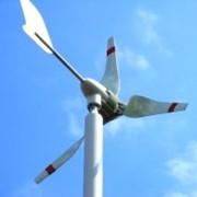 Ветрогенератор горизонтальный роторный WG-400 (400Ва) фото