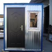 Бытовка, блок - контейнер, кпп, пост охраны, ангары, домик для отдыха фото