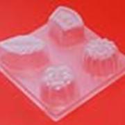 Пластиковая форма для желе и шоколадов фото