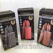 Набор металлокерамических ножей с подставкой, арт.24525410 фото