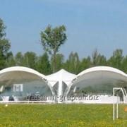 Свадебный павильон, шатёр для торжеств, выставочный павильон. фото