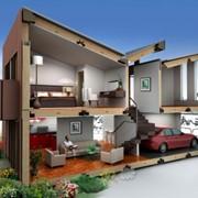 Проекты частных домов и коттеджей фото