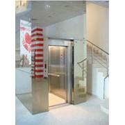 Лифты c металло-каркасными шахтами фото