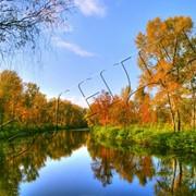 Фоторабота Осенняя река фото